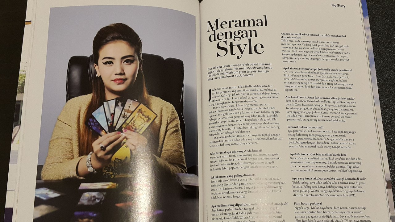 Mama Ella at Top Life Magazine